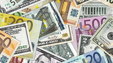 Billets euros dollars 27062012